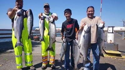 Buoy 10 Fishing in Columbia River