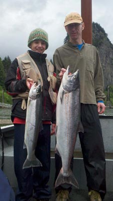 Salmon Fishing Guide by Fish Hunters Guide Service
